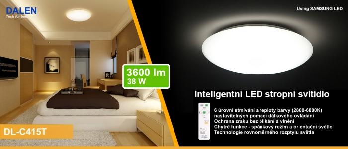 Inteligentní LED režimová svítidla